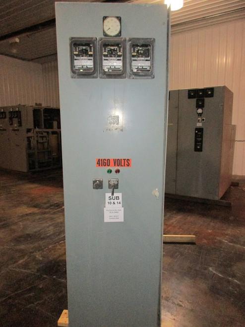 GE AM-4.16 Single Section Switchgear (#37)