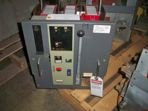 DS-206 Westinghouse 800A MO/DO 600A Cont. Current LI Air Circuit Breaker