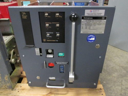 DS-206 Westinghouse 800A MO/DO 400A Cont. Current LSIG Air Circuit Breaker
