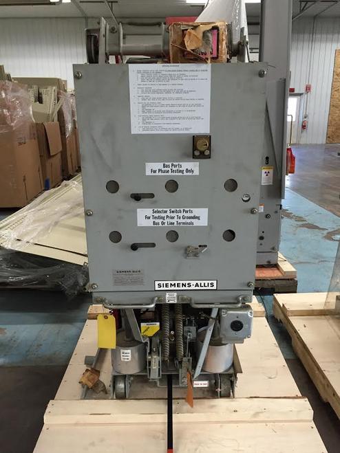Siemens-Allis DGT-1 5KV Ground & Test Unit