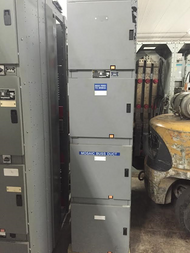 Square D Power Zone III 480/277V Single Section Switchgear (#86)