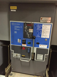 DS-632 Cutler-Hammer/WHSE 3200A EO/DO LS Air Circuit Breaker (In Structure)