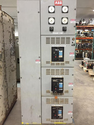 ABB 480V Single Section Distribution Switchgear K-Line (#141)