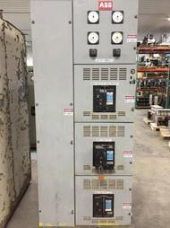 ABB 480V Single Section Distribution Switchgear K-Line (#141)