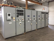 Westinghouse Type VCP 15KV Main-Tie Switchgear Lineup