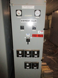 Siemens-Allis Type D Single Section Switchgear (#39)