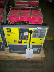 DS-416 Square D 1600A MO/DO 1200A Cont. Current LSIG Air Circuit Breaker