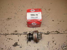 Standard Motor Products SDN-20 Starter Drive Ford NOS
