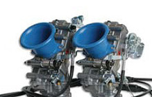 Keihin Blue 50MM Length Velocity Stacks for FCR Carburetors