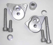 LSL Crash Pad Frame Slider Mounting Kits for Suzuki