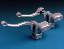 ISR CNC Billet Aluminum Front Master Cylinder Brake or Clutch Integrated Reservoir Style 21-011