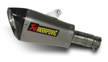 Akrapovic Titanium GP Style Megaphone Slip-On Exhaust System for 2010-2012 Yamaha R6