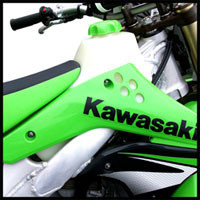 Clarke 2.8GAL Fuel Tank for Kawasaki KX250F Off-Road Motorcycle