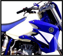 Clarke 2.8GAL Fuel Tank for Yamaha WRF450, WRF250, YZ450F and YZ250F Off-Road Motorcycles