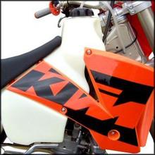 Clarke 3.1GAL Fuel Tank for 2003-2005 KTM400, KTM450, KTM525 4 Stroke Motorcycles