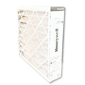 Honeywell FC200E1011 20x20 MERV13 pleated media air filter for use with heat pump, furnace or air conditioner.