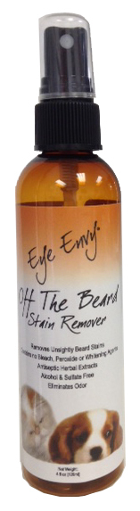 Eye Envy Off the Beard Stain Remover for Dogs and Cats