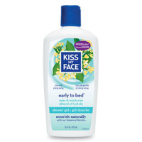 Kiss My Face, Early To Bed Shower & Bath Gel, 16 fl oz (473 ml)