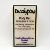 Inspired soap works eucalyptus Soap, 120g