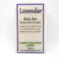 Inspired Soap Works Lavender Soap, 120g