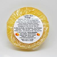 Inspired soap works Loofah Slice Orange Ingredients, 85g