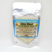 Inspired soap works Detox Blend Dead Sea Salt Body and foot soak, 55g