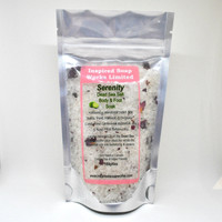 Inspired Soap Works Serenity Dead Sea Salt Body and Foot Soak, 180g