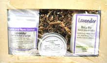 Inspired soap works Lavender Trio Package