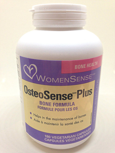 home natural health products osteosense plus 180 veg caps. Black Bedroom Furniture Sets. Home Design Ideas