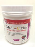 Medi-C Plus Vitamin C & L-Lysine 300g Berry