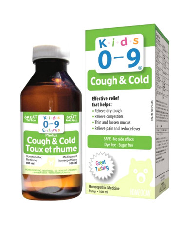 Kids 0-9 Cough & Cold Syrup, 100ml - Sutton Apothecary
