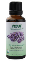 NOW Foods Organic Essential Oils Lavender, 30ml