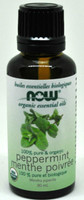 NOW Foods Organic Essential Oils Peppermint, 30ml