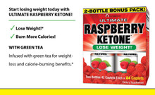 Ultimate Green Tea & Raspberry Ketone, 2-Bottle 42 Caps Bonus Pack