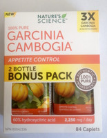 Garcinia Cambogia, 2-Bottle 42 Caps Bonus Pack