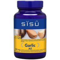SISU Garlic 250mg, 120 Tablets