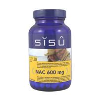 SISU NAC 600mg, 120 Veg Caps