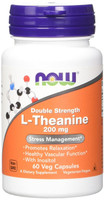 NOW L-Theanine mg, 60 Capsules