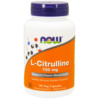NOW L-Citrulline 750 mg, 90 Capsules