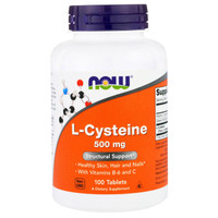 NOW L-Cysteine 500 mg, 100 Tablets