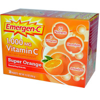 EmergenC 1000mg, Orange Flavour Drink Mix