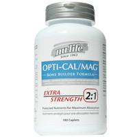 Nu-Life Opti-Cal/Mag Extra Strength 2:1  180 Caplets