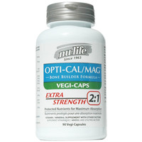 Nu-Life Opti-Cal/Mag Extra Strength 2:1 (Vegi-Caps)   90 Caplets