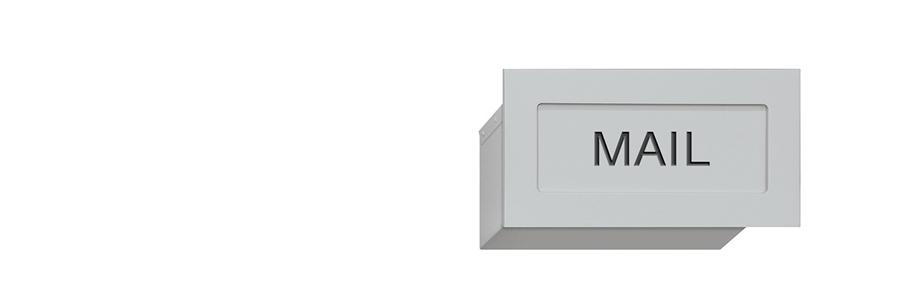 Wall Mailbox Slot Wall Mail Drop Slot