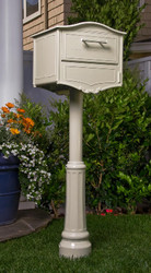 Decorative Locking Mailbox