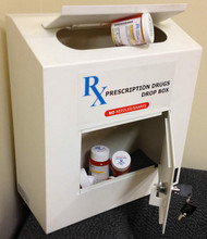 Locking Prescription Drug Drop Box