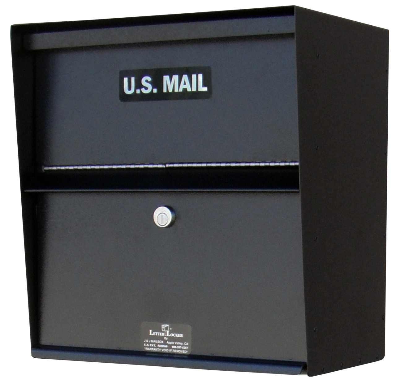 Wall Mailbox With Lock Locking Wall Mounted Mailbox