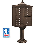 Regency 12 Unit Cluster Locking Mailbox