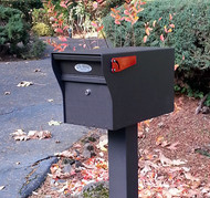 Locking Mailbox with Optional Combination Mechanical Lock
