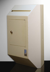 Corner Wall Locking Envelope Drop Box
